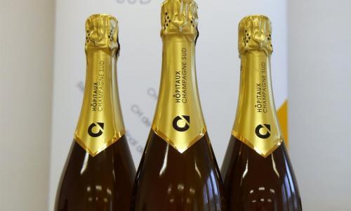 Lancement du Champagne des Hôpitaux Champagne Sud, un champagne solidaire