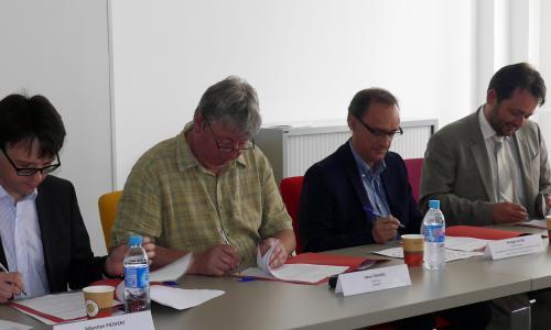 Signature de la convention constitutive du GHT de l'Aube et du Sézannais