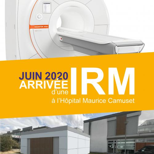 Bientôt un appareil d'IRM et un service de court séjour gériatrique neuf au sein de l'hôpital Maurice Camuset