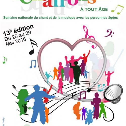 Semaine Nationale du Chant et de la Musique avec les personnes âgées