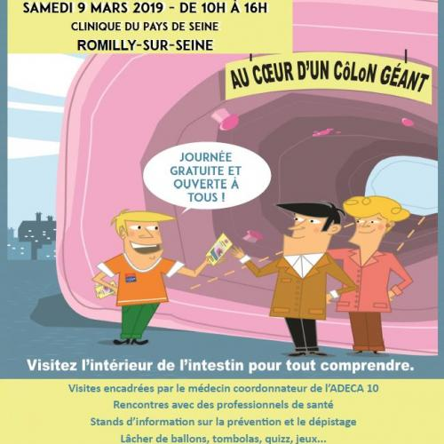 Ensemble contre le cancer colorectal samedi 9 mars 2019