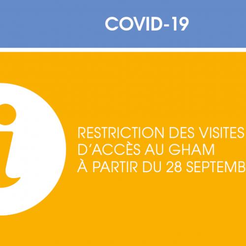 Restriction des visites et règles d'accès