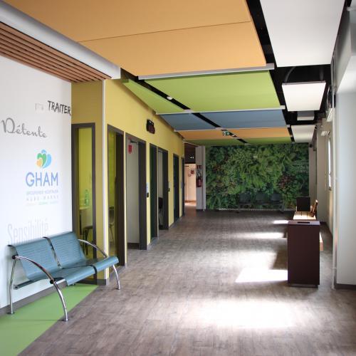 Inauguration du nouveau hall d'accueil du site hospitalier Maurice Camuset